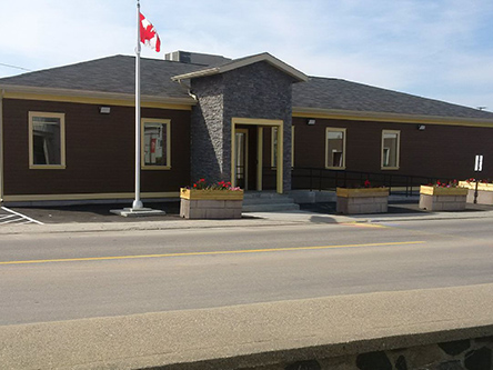 Building image of Port Aux Basques Service Canada Centre at 64 Main Street in Channel-Port aux Basques