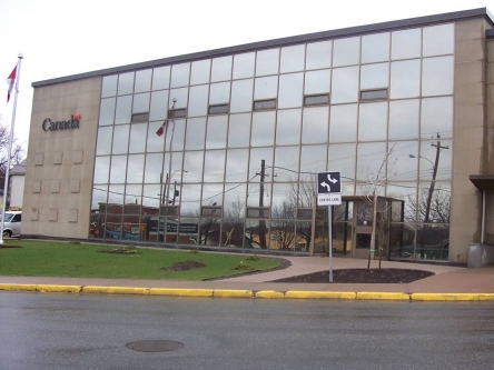 Photo de l'édifice du bureau New Glasgow - Centre Service Canada situé au 340, chemin East River à New Glasgow