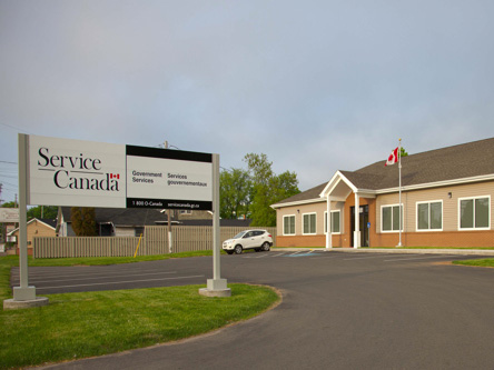 Building image ofTruro Service Canada Centre at 181 Willow Street in Truro