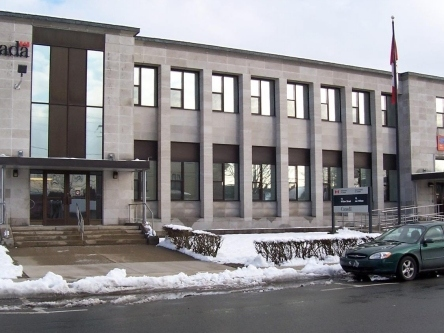 Building image of Yarmouth Service Canada Centre at 13 Willow Street in Yarmouth