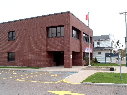 Building image of Shippagan Service Canada Centre at 196A J.D Gauthier Boulevard in Shippagan