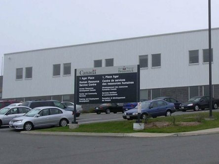 Building image of Saint John Service Canada Centre at 1 Agar Place in Saint John