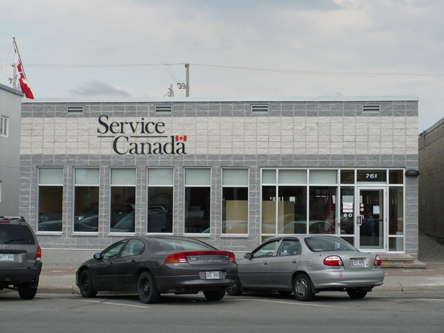 Building image of Senneterre Service Canada Centre at 761 10th Avenue in Senneterre