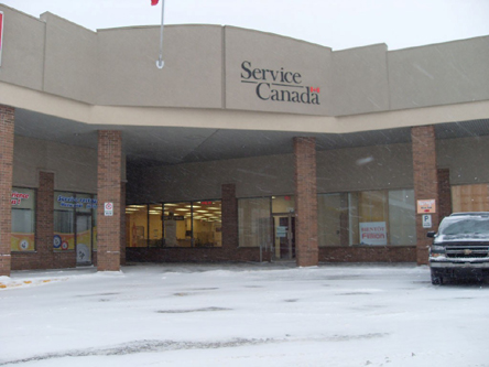 Building image of Lévis Service Canada Centre at 50 President Kennedy Route in Lévis