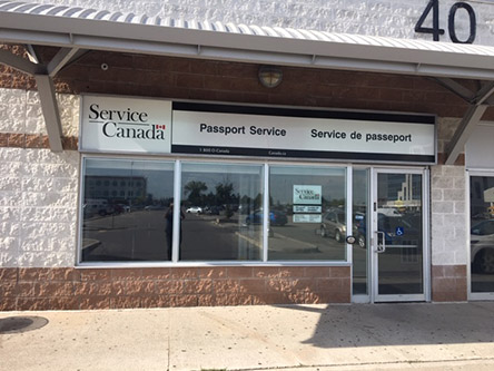 Building image ofBrampton Passport Office - Passport services only at 40 Gillingham Drive, Suite 401 in Brampton