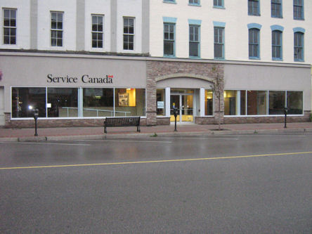 Building image of Lindsay Service Canada Centre at 65 Kent Street West in Lindsay