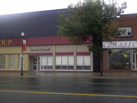 Building image of Peterborough Service Canada Centre at 219 George Street North in Peterborough
