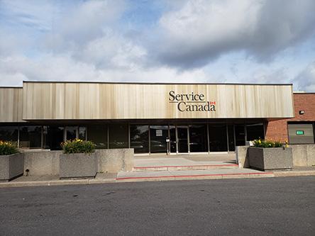 Bureaux de service canada près de l r l