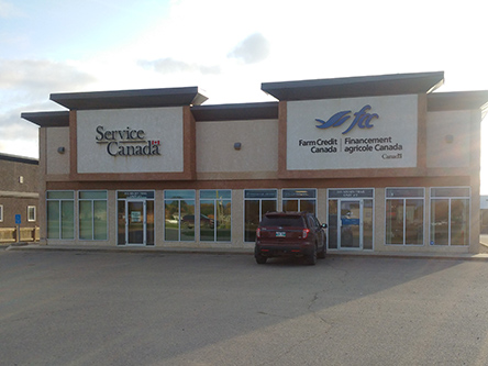 Building image of Swan River Service Canada Centre at 355 Kelsey Trail in Swan River