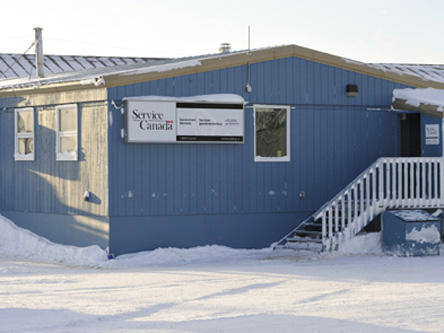 Photo de l'édifice du bureauCambridge Bay - Centre Service Canada situé au 16, rue Mitik à Cambridge Bay