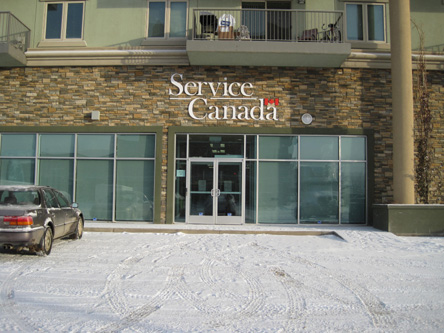 Photo de l'édifice du bureau Fort McMurray - Centre Service Canada situé au 8530, avenue Manning à Fort McMurray