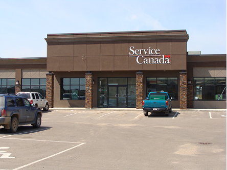 Building image of Lloydminster Service Canada Centre at 4114 70th Avenue in Lloydminster