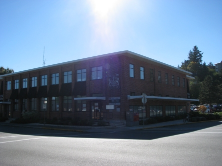 Building image of Campbell River Service Canada Centre at 950 Alder Street in Campbell River