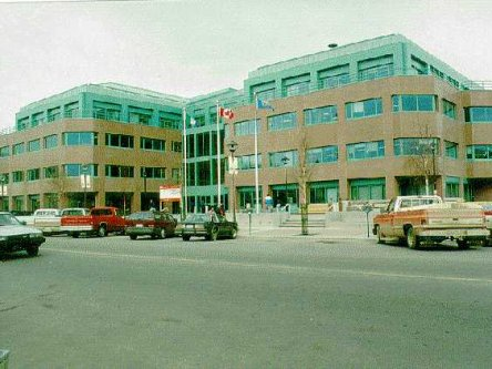 Building image of Whitehorse Service Canada Centre at 300 Main Street in Whitehorse