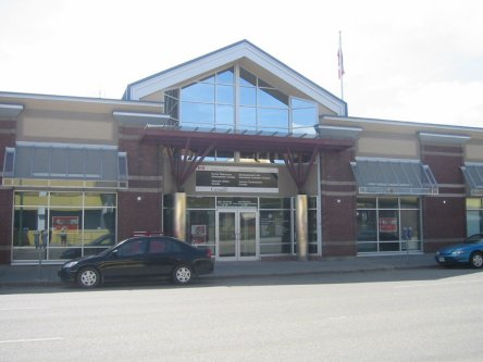 Building image of Prince George Service Canada Centre at 1363 4th Avenue in Prince George