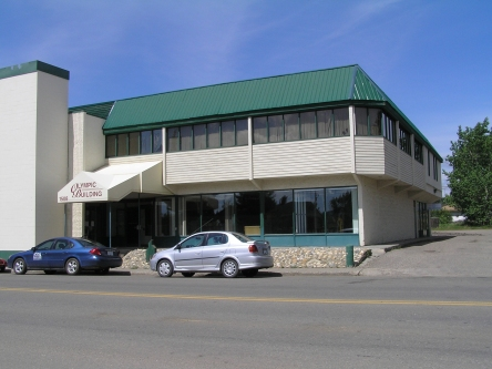 Photo de l'édifice du bureau Dawson Creek - Centre Service Canada situé au 1508, 102e Avenue à Dawson Creek