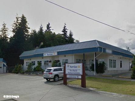 Building image of Port Hardy Scheduled Outreach Site at 8785 Gray Street in Port Hardy