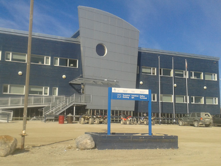 Building image of Igloolik Scheduled Outreach Site at Hamlet Chamber Office in Igloolik