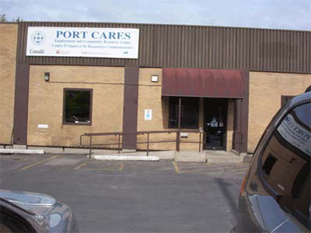 Building image of Port Colborne Scheduled Outreach Site at 92 Charlotte Street in Port Colborne